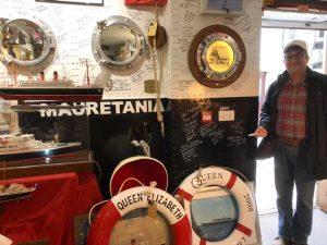 """Steve """"Fozzie"""" Cotton – Cunard – Queen Elizabeth II QE2"""