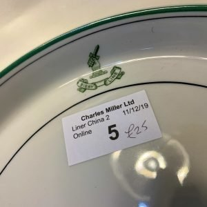 Charles Miller – Bibby Line – side plate / vegetable plate