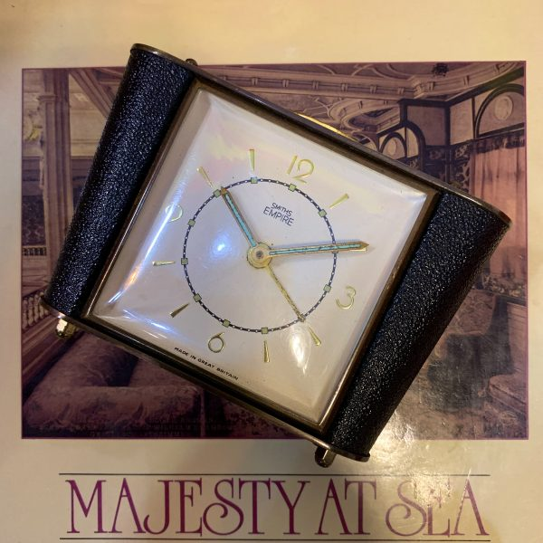 RMS Queen Mary Bedside clock