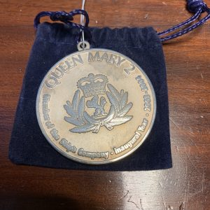 Queen Mary Commemorative medallion
