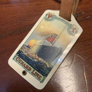 Cunard line Luggage Tag