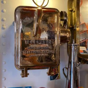 US Navy wheelhouse telephone very rare