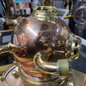 Ornamental diving helmets