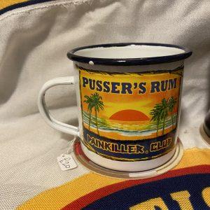 Pusser's Rum Enamel Mug