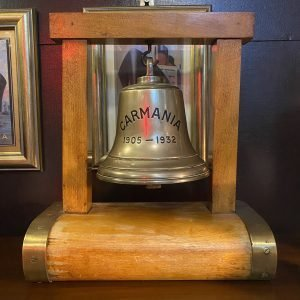 SS Carmania 1905-32 Commemorative Bell