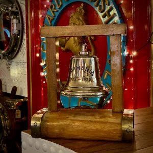 SS Carmania 1905-32 Commemorative Bell