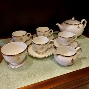 Beautiful Cunard Wedgwood Cavendish China Tea Service