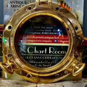 2 Key Bronze Opening Porthole