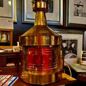 Original Ships Port Navigation Lamp G.P.GRIMLEY & SONS LTD 1943 BIRMINGHAM