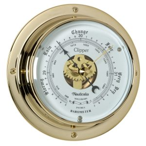Nauticalia – Clipper Barometer Brass 6771
