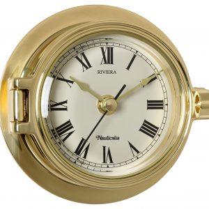 Nauticalia Brass Riviera Clock 6780