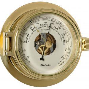 Nauticalia Brass Riviera Barometer 6781