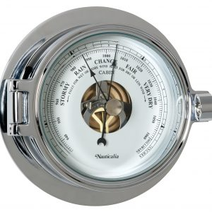 Nauticalia Chrome Riviera Barometer 6791