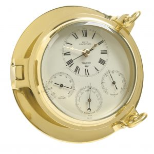Nauticalia Brass Fleet Commander Clock 7107