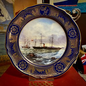 """The Age of Romance"" The early years ""Europa & Niagara"" Spode Collectors plate"