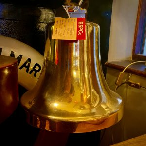 Heavy Ship's Brass Bell 13″ (33cm)