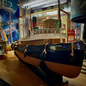 """Lady Wooes"" WW2 Steam Tug 1:32nd Model"