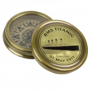 Nauticalia RMS Titanic Tribute Compass Brass 3801