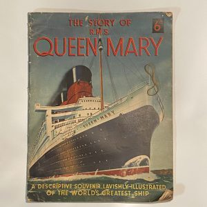 The Story of R.M.S. Queen Mary Brochure Circa 1930's
