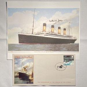 Job Lot of RMS Titanic related memorabilia including Millvena Dean Signature