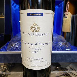 """Rare Queen Elizabeth 1997 Chardonnay de Campuget """"Cuvee Speciale"""""""