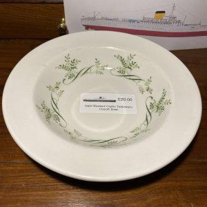RMS Windsor Castle  Desert Bowl