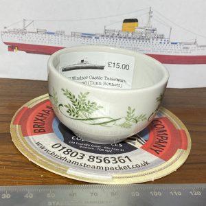 RMS Windsor Castle Small Sugar Bowl