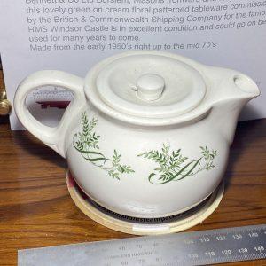 RMS Windsor Castle Small Tea Pot