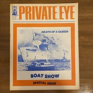 2 Highly Collectable Private Eye Satirical Magazines No 263 & 296