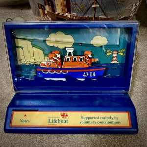 Rare and Highly Collectable Vintage Lifeboat Collection Box