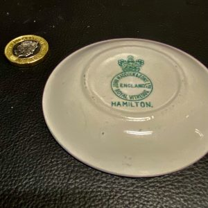 Lamport & Holt Butter Dish by John Maddock & Sons