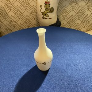 Cunard Queen Elizabeth 2 Bone China Stem Vase Royal Doulton