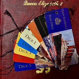 Cunard Queen Elizabeth 2 Stateroom Folder Welcome Pack