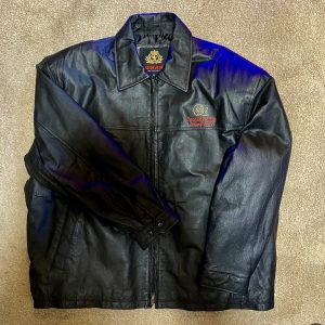 Queen Mary 2 2004 Inaugural Team Leather Jacket Brand New unused XL