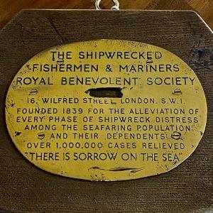 THE SHIPWRECKED FISHERMEN & MARINERS ROYAL BENEVOLENT SOCIETY