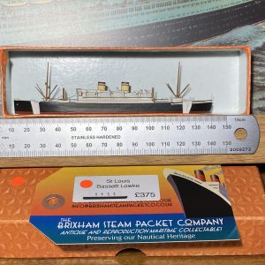 Bassett-Lowke Waterline Model Ship St Louis Hamburg-America Line  HAPAG