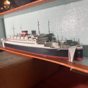 Bassett-Lowke Waterline Model Ship The Cosulich Line MS Saturnia