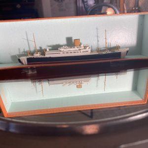 Bassett-Lowke Waterline Model Ship The  Norddeutscher Lloyd  SS Scharnhorst