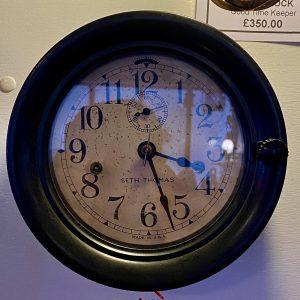 Rare United States Navy Seth Thomas Bakelite Ships Clock