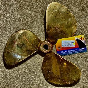 Bronze 14″ Boat Propellor BSPCo Ref: #16